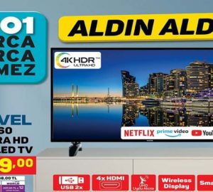 A101 Hi-Level 55UHL960 55″ Ultra HD Smart Led Tv Yorumları